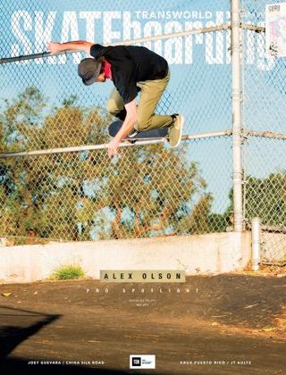covers - Transworld, May 2015