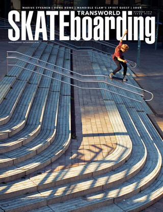 covers - Transworld, October 2016