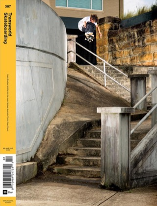 covers - Transworld, July/August 2017