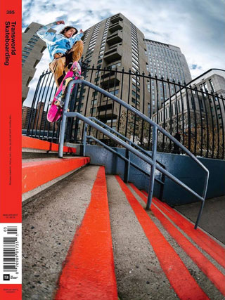 covers - Transworld, March/April 2017